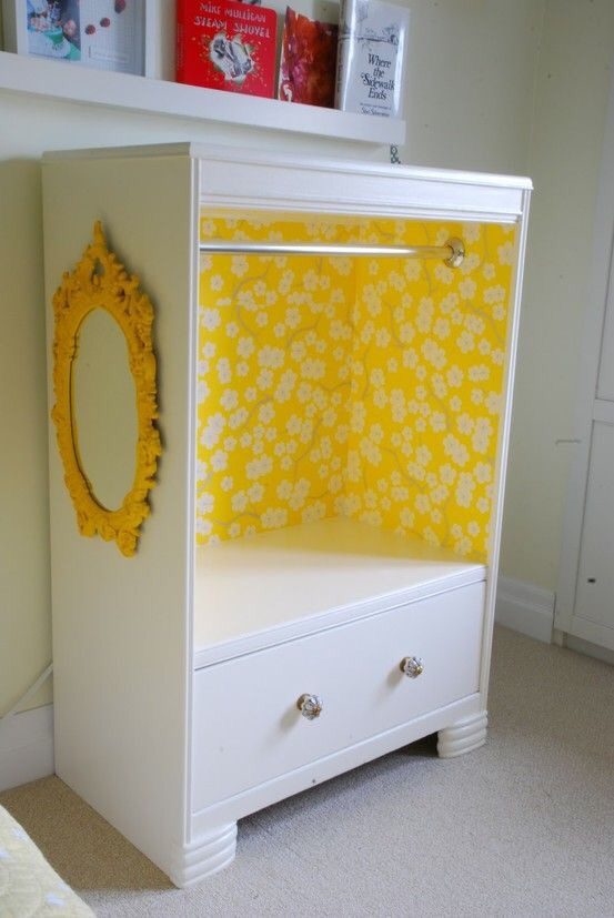Beau The DIY Version Is To Use An Old Dresser Or TV Unit To Turn It Into A Little  Girls Dream Dress Up Closet. But After Pricing Out A Closet Rod, Paint, ...